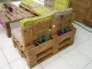 Salon De Jardin Palettes. salon de jardin en palettes en bois photo ...