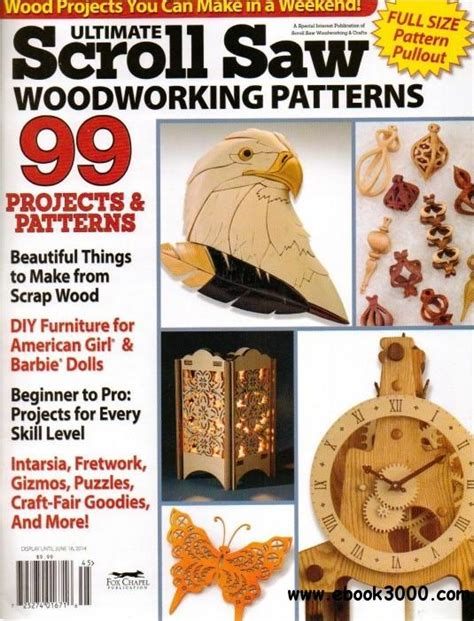ultimate scrollsaw woodworking patterns spring