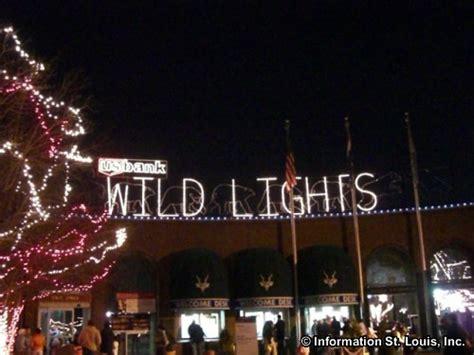 saint louis zoo christmas lights wild lights holiday lights display at the st louis zoo