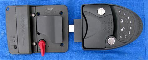 rv door locks keyless why you must change rv door lock and how to install rvlock