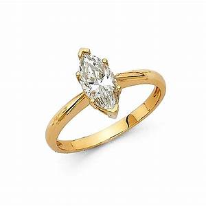 1 ct marquise solitaire engagement wedding promise ring With promise engagement wedding rings