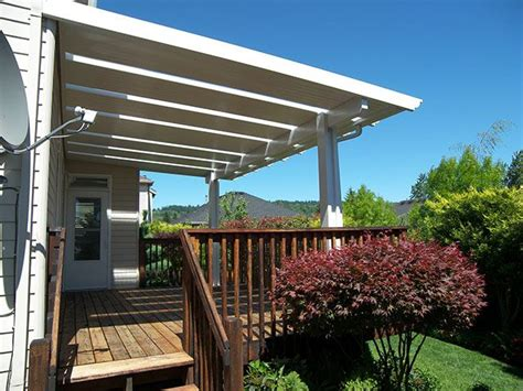 alumawood patio cover with skylights backyard ideas