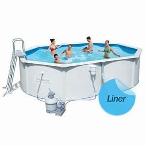 Liner Piscine Pas Cher : liner compatible piscine hors sol bestway acier distripool ~ Dallasstarsshop.com Idées de Décoration