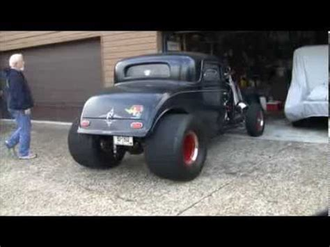 ford coupe blown big block chevrolet youtube