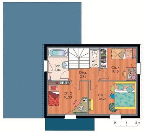 plan maison bois plain pied 4 chambres maison 2 dé du plan de maison 2 faire