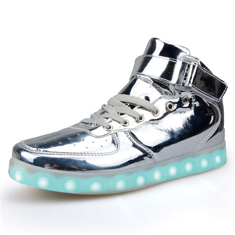 light up high tops light up shoes classic high top light up shoes for adults