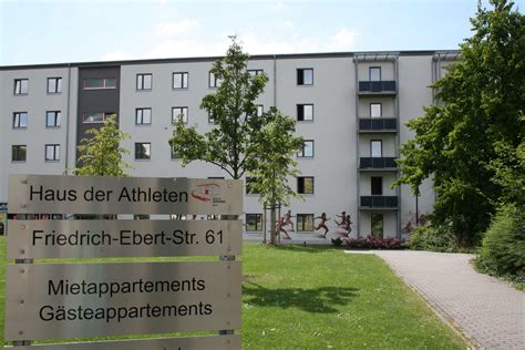 Das Haus Der Athleten  Erfurt  Erfurter Sportbetrieb