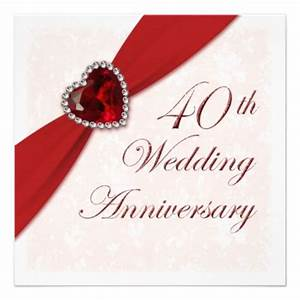 26 best images about 35th anniversary invites on pinterest With cheap 40th wedding anniversary invitations