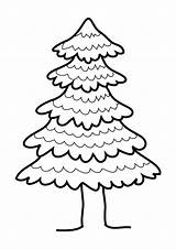 Pine Tree Clip Coloring Drawing Clipart Pages Draw Template Sketch Cliparts Getdrawings Clipartbest Apple sketch template