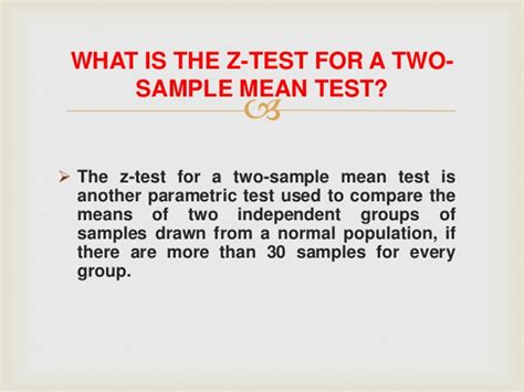 test two parametric mean sample anova difference method significance