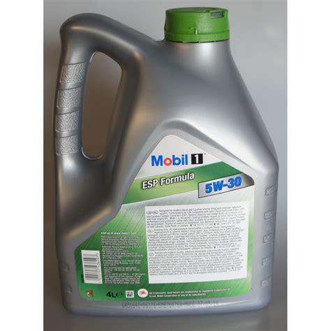 mobil 1 esp formula 5w 30 5l olej mobil 1 esp formula 5w 30