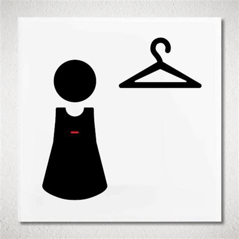 chambre des notaire pictogramme vestiaire femmes plexiglas votre picto