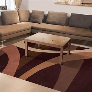 Tapis Salon Moderne : tapis moderne brownies par arte espina ~ Teatrodelosmanantiales.com Idées de Décoration