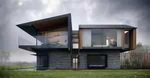 Simple Design Tremendous Modern Glass Home Floor Plans ...