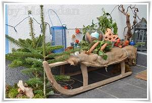 Alten Schlitten Dekorieren : winter bei meinen eltern mayodans home garden crafts ~ Frokenaadalensverden.com Haus und Dekorationen