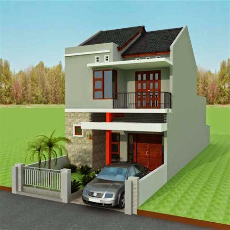 eksterior  interior desain rumah minimalis berkonsep