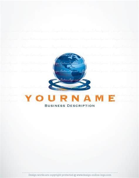 exclusive design globe world logo compatible