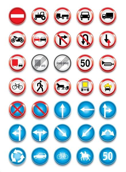Download for free in png, svg, pdf formats 👆. Road traffic signs svg free vector download (90,951 Free ...