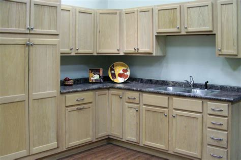 Unfinished Oak Kitchen Cabinets  Home Furniture Design