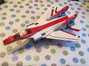 Lego Jet Plane  Moving Wings  With Instructions