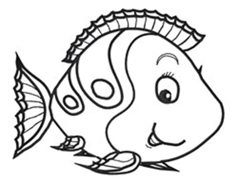 animals embroidery design cute fish outline  king
