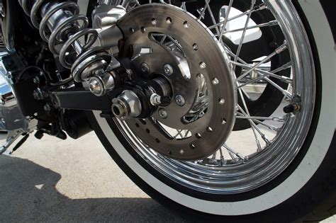 Harley Davidson Softail How To Replace Brake Pads