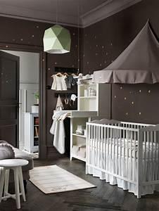 Deco Chambre Bebe Ikea : faire une chambre de b b dans un petit espace c t maison ~ Teatrodelosmanantiales.com Idées de Décoration