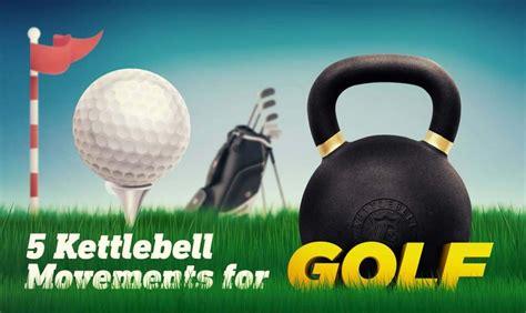 kettlebell infographic golfers golf