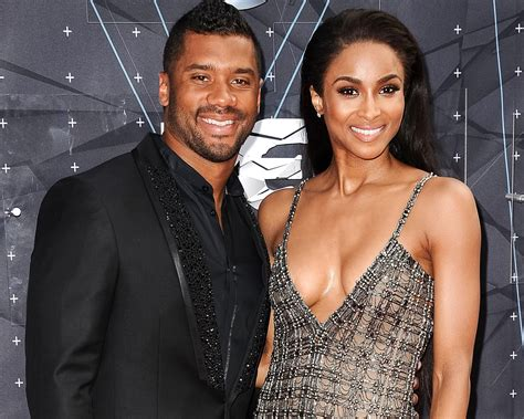 ciara russell wilson announce engagement   huge ring
