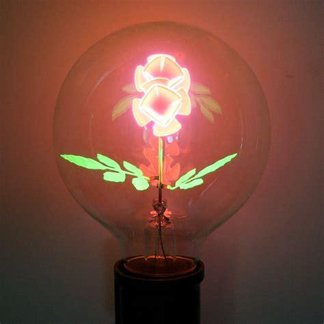 flowers in light bulbs damar 56013 quot long stem flower quot g25 medium base