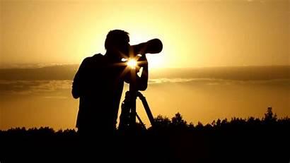 Photographers Photographer Sunrise Camera Silhouette Around Topteny