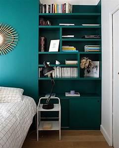 chambre bleu vert idees decoration interieure farikus With marvelous couleur bleu canard deco 2 du bleu dans ma deco frenchy fancy