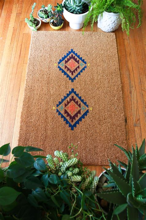 Make A Doormat by How To Make A Doormat With Cricut Jest Cafe