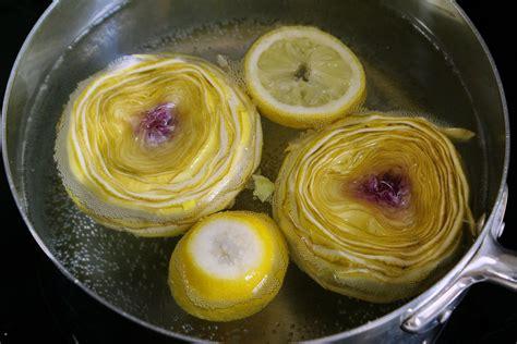 cuisiner les artichauts parer un fond d artichaut recette des artichauts