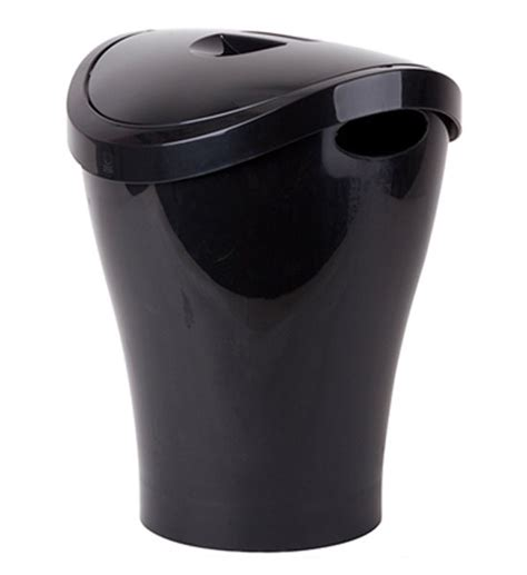small bathroom trash can with swing lid small swing top trash can black in small trash cans