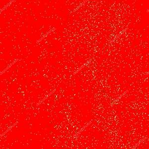 Gold glitter texture isolated on red background. — Stock ...