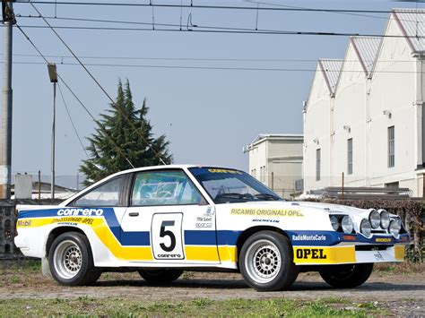 Opel Manta Rallye by Opel Manta 400 Rally Picture 90995 Opel Photo Gallery