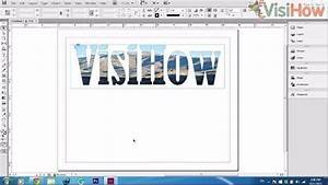 Combine Image And Text In Adobe Indesign Cs6