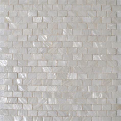 Of Pearl Subway Tile Uk by Shell Tile Mosaic Wall Tile Subway Tile Kitchen Backsplash
