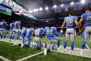 Not just a knee: Photos from Sunday's anthem protests