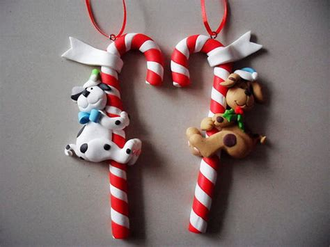 handmade polymer clay christmas ornament crafts