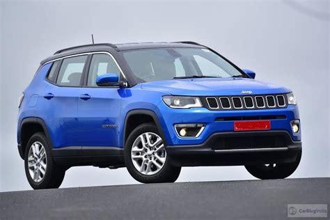 jeep compass india price   lakh specs