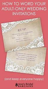 Adults only wording for wedding what to say and how to for Wedding invitation envelope etiquette uk
