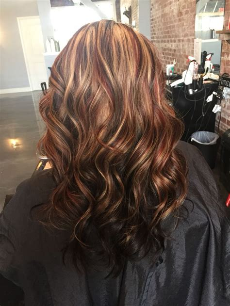 Image Result For Highlights And Lowlights Dark Brown Hair