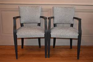 Fauteuil Bridge Neuf : paire de fauteuils bridge annees 40 refait a neuf antiquites en france ~ Teatrodelosmanantiales.com Idées de Décoration