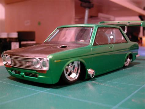 Datsun 510 Kit by Datsun 510 Die Cast Model Kit Datsun 510