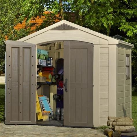 8 X 6 Resin Storage Shed by Page Not Found Garden Buildings Direct