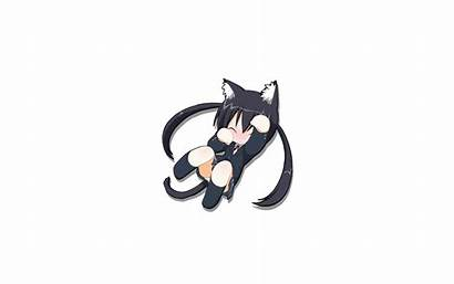 Ears Animal Sora Animated Chibi Catgirl Nakano