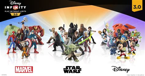 disney infinity 3 0 prima interactive 631 | INF3 CharLineUp ENG1