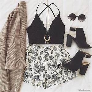 106 best images about laid out outfits on Pinterest | Follow me Floral shorts and Summer